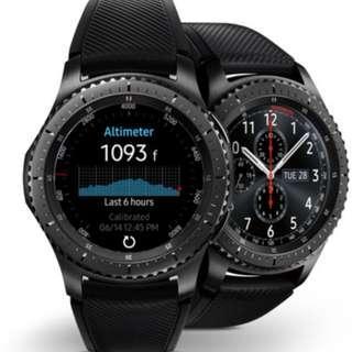 Samsung Gear S3 Frontier Bluetooth