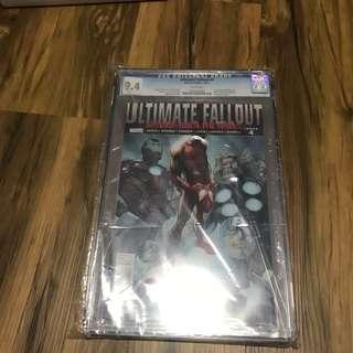 Ultimate Fallout #4 Cgc 9.4