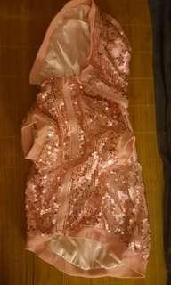 🐕🐈寵物外套桃粉色珠片拉鍊🐈🐕