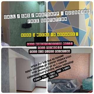 House Painting Services! Early bird promotions!