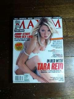 Tara Reid -Maxim March 2002
