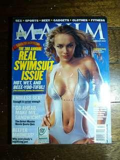 The Real Swimsuit Issue -Maxim Feb 22