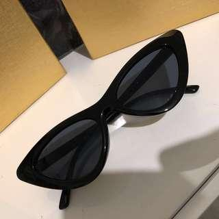 New vogue sunglasses black cateye