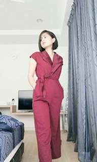 Zara jumpsuit 2 pocket