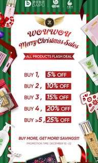 🚚 Christmas Flash Deals at Wowo!!