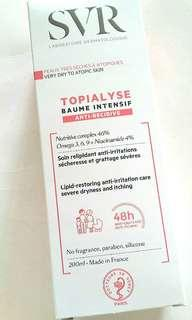 Topialyse intensively lipid restoring anti-irritation care balm