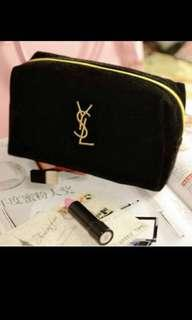 Ysl cosmetic small pouch bag