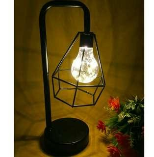 Geometric fairy lamp