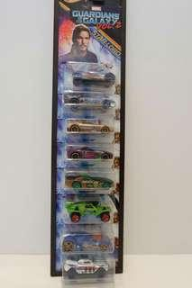 Hot Wheels Guardians of the Galaxy Set of 8
