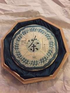 普洱(生茶)餅: 云南 景迈[千年乔木古樹茶];如相片所示