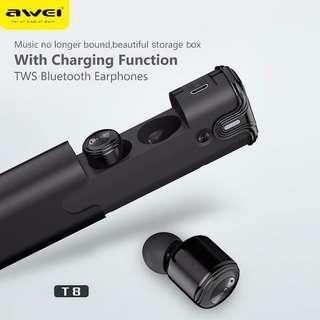 Awei T8 True Bluetooth Wireless Earpiece