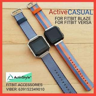 Straps for Fitbit Blaze and Fitbit Versa