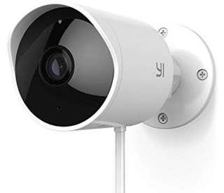 -1414-YI Outdoor Camera 1080p Home Security Surveillance IP Camera Wifi CCTV Bullet Camera Waterproof with Night Vision Two-way Audio Motion Detection – Remote Monitor APP & Cloud Storage Available