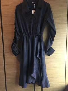 Wrap-Effect dress