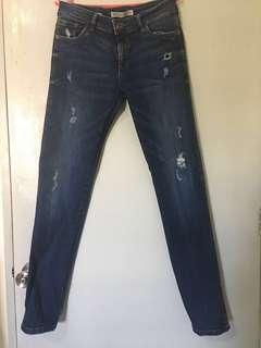 Sale!!! Original Bershka Skinny Low Waist Denim For Her