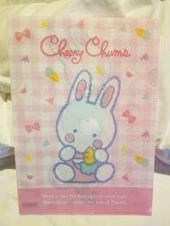 Cheery Chums 膠 folder file 日本製 made in Japan