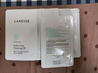 Laneige Perfect Pore Cleansing Oil 4ml (7 sachets)