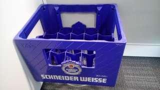 Schneider Weisse German Beer Crate