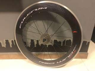 FULCRUM Red Wind 80 XLR -Carbon Clincher Wheelset