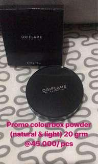 Colourbox powder natural