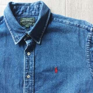 Ralph Lauren Denim Polo Shirt