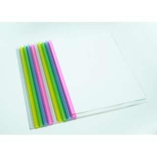 Slide-In Plastic Binder File