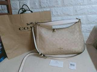 authentic coach two way sling and shoulder not mk,ks,lv,dkny,lacoste