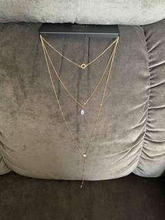 Brand New Auth Forever 21 Waterfall Necklace