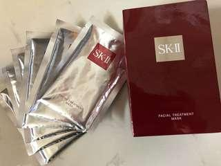 SKII 護膚面膜6片