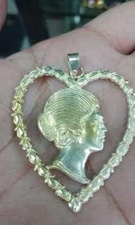 Silver Imelda Pendant