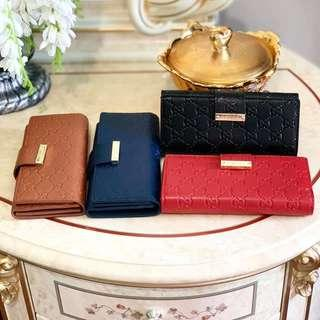 Gucci Embossed Wallet