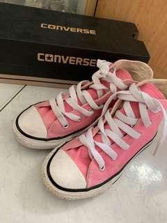 Converse Sneakers High cut shoe in pink US11