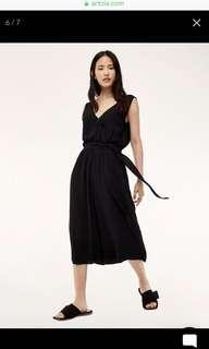 Aritzia Maximillian Jumpsuit in Black XS