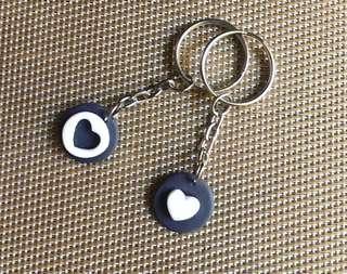 Couple Keychain - Best friend keychain