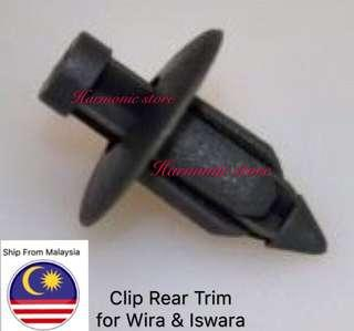Clip  Rear Trim for Wira & Iswara (30pcs)