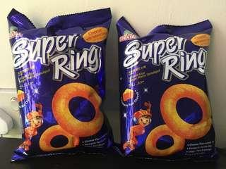 Super Ring Snacks Cheese with Natural Colour