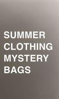 SUMMER CLOTHING MYSTERY BAGS