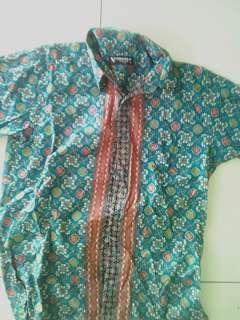 Kemeja batik italia cordello