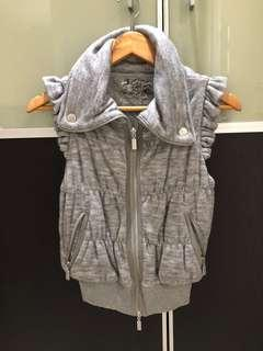 Pre loved Forever New grey puffer vest XS
