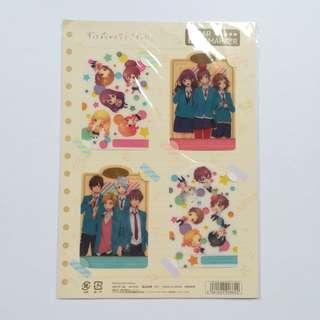 (Exclusive) Zutto Mae kara Suki Deshita. ~Kokuhaku Jikkou Iinkai~ - Clear Bookmark Set