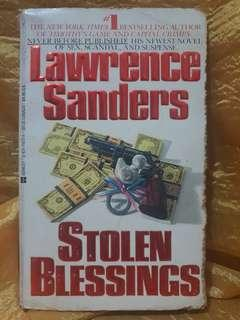 Pre-loved Books: Stolen Blessings by Lawrence Sanders