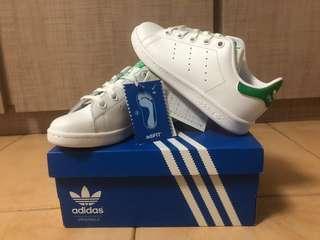 adidas green stan smith kids