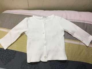 女寶氣質外套/全新剪標/73碼/白、灰各一
