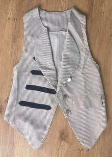 Stripe military vest