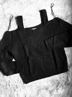 Colorbox Open Shoulders Sweater