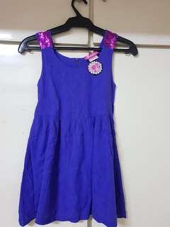 Barbie Purple Dress for Girls
