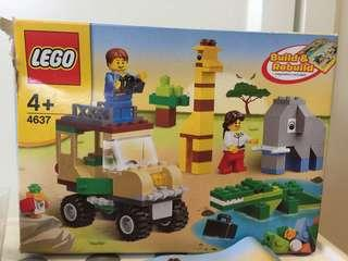 Lego 4637 safari building set