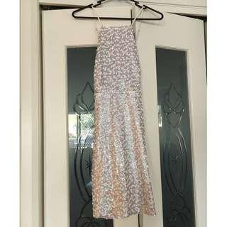 White Sequin Dress from Pretty Little Thing