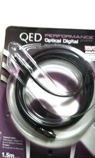 QED OPTICAL DIGITAL CABLE 1.5 METERS