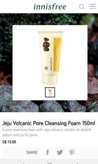 [BNIP] Innisfree Jeju Volcanic Pore Cleansing Foam